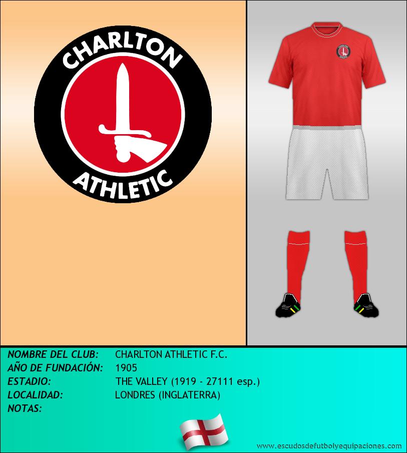 Escudo de CHARLTON ATHLETIC F.C.