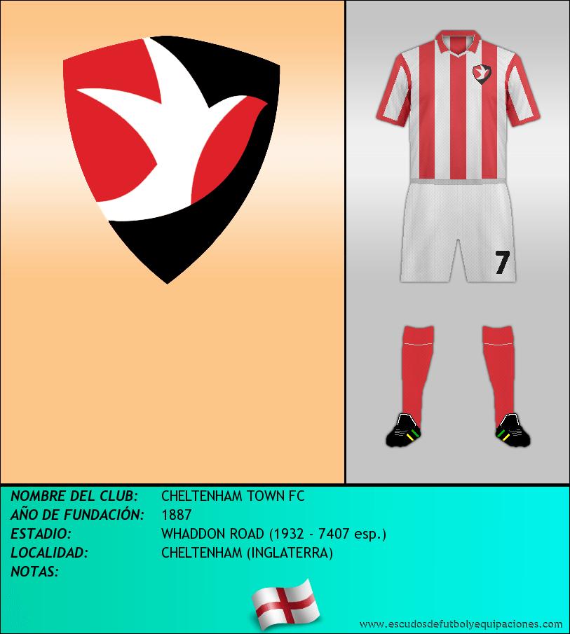 Escudo de CHELTENHAM TOWN FC