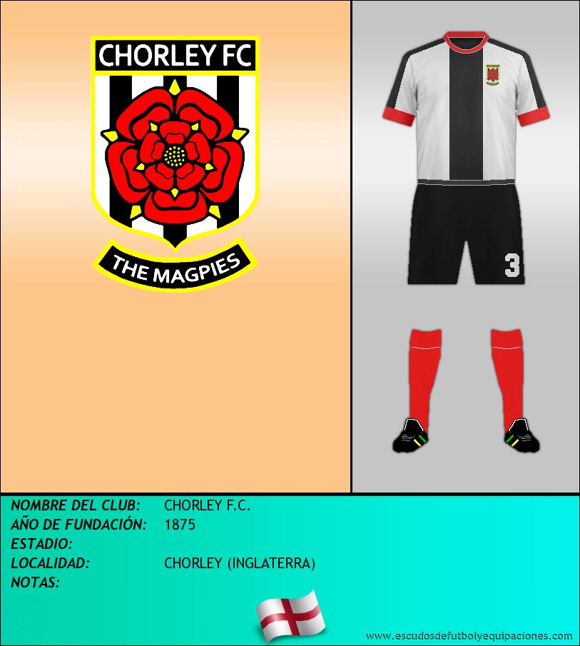 Escudo de CHORLEY F.C.