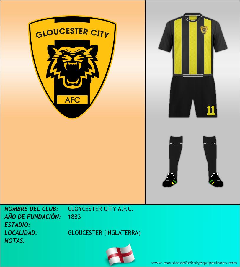 Escudo de CLOYCESTER CITY A.F.C.