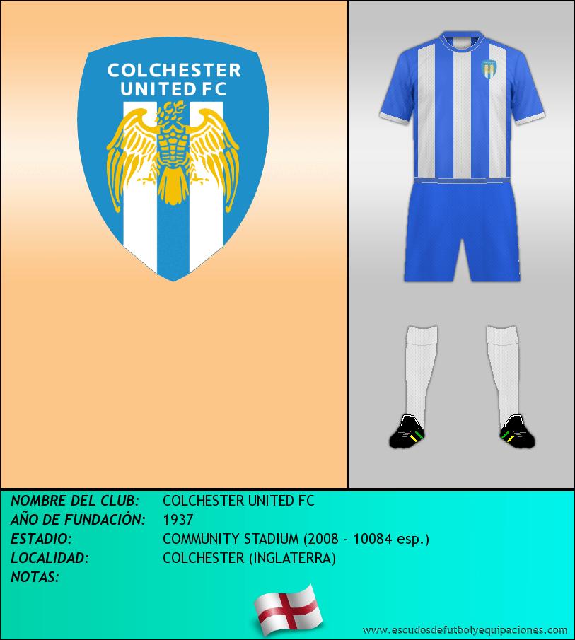 Escudo de COLCHESTER UNITED FC