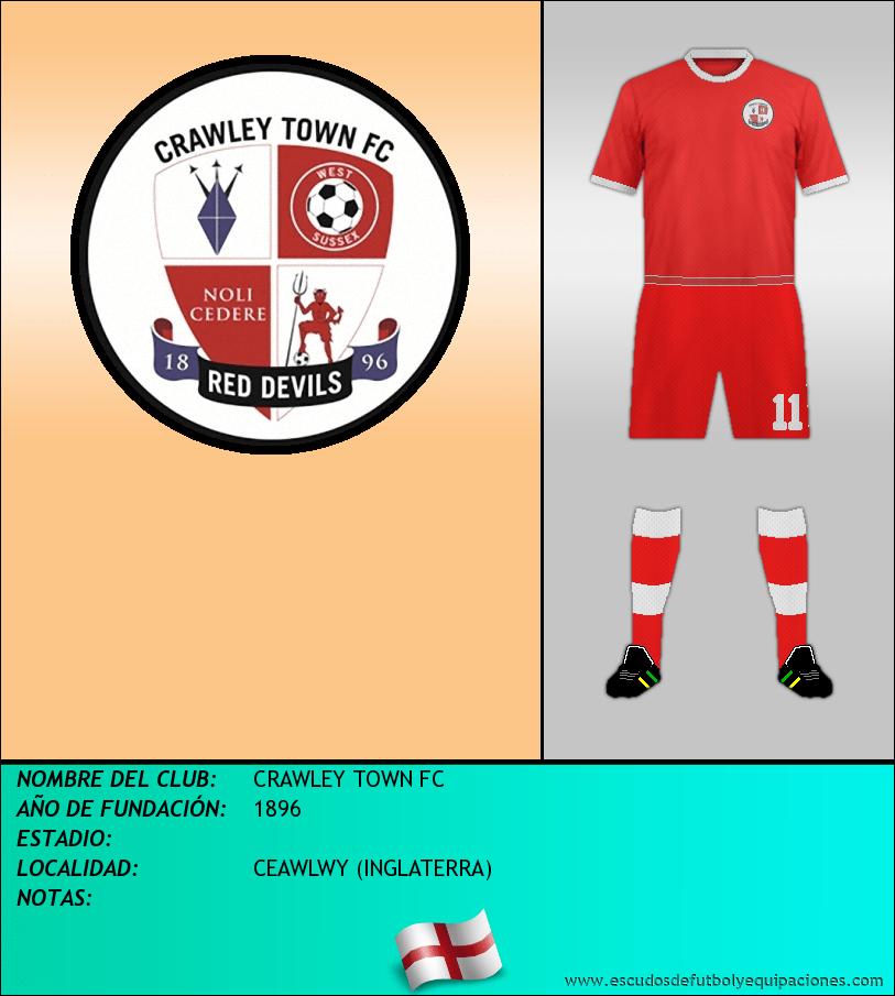 Escudo de CRAWLEY TOWN FC