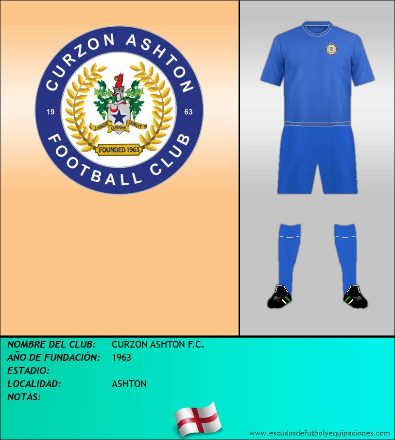 Escudo de CURZON ASHTON F.C.