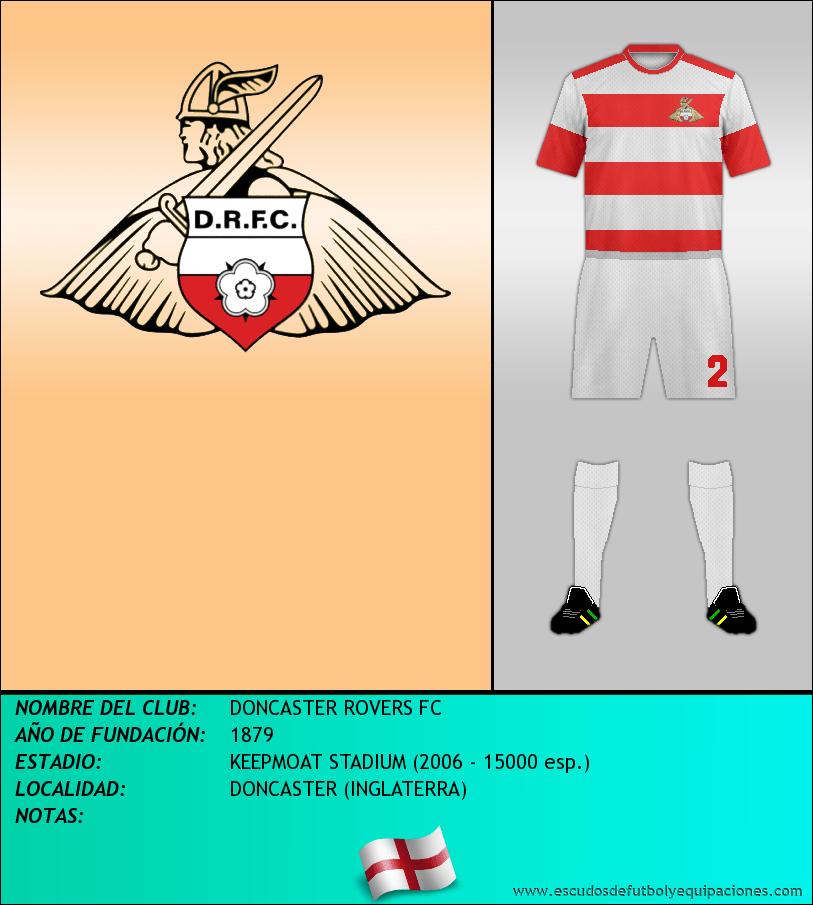 Escudo de DONCASTER ROVERS FC