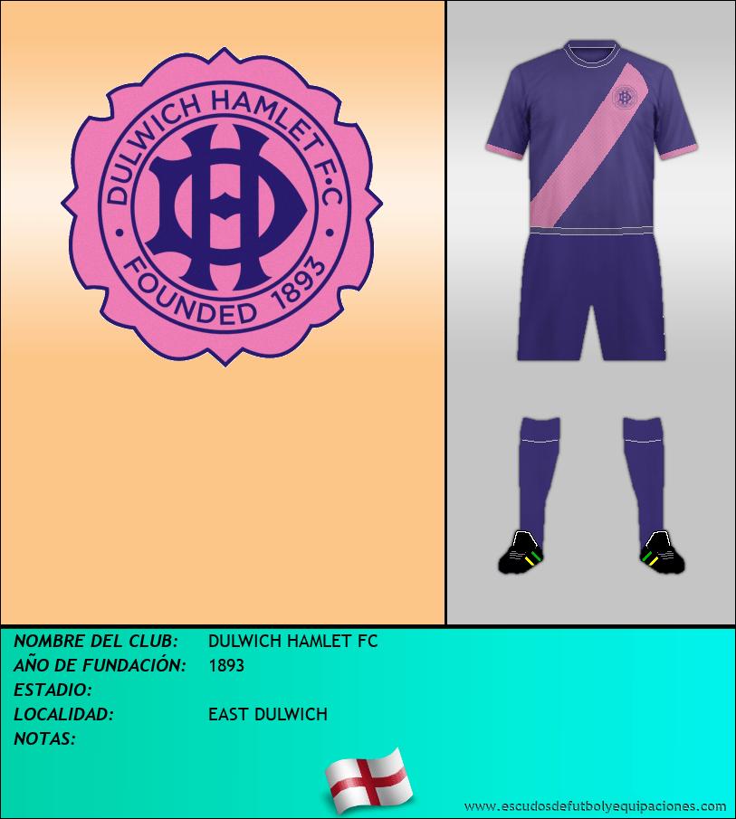 Escudo de DULWICH HAMLET FC
