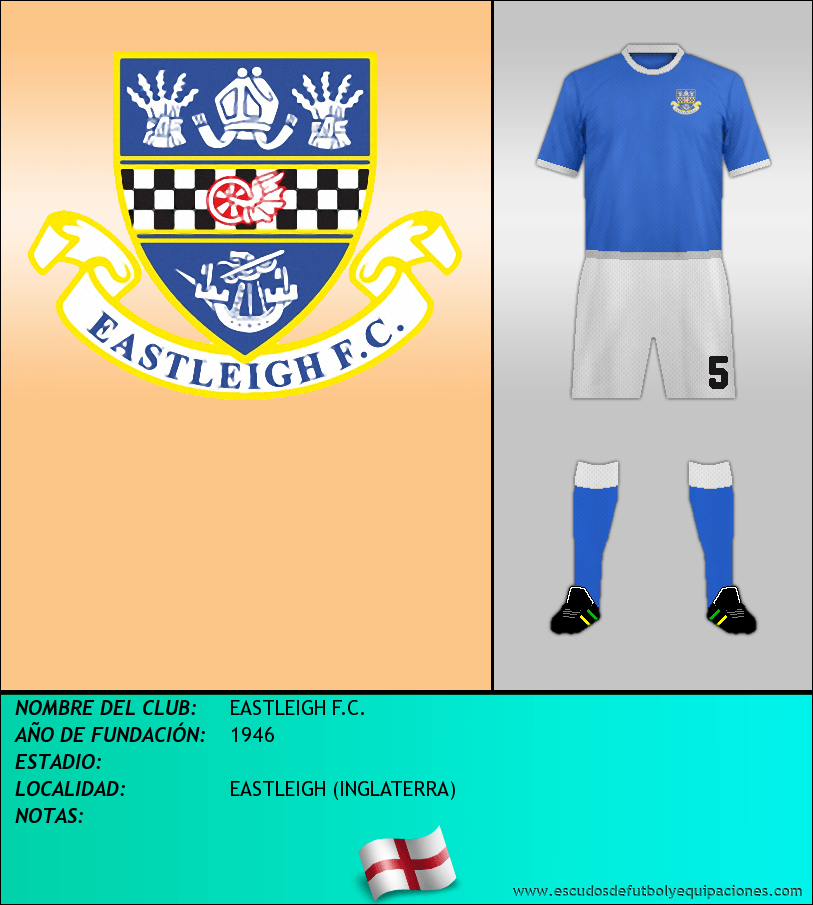 Escudo de EASTLEIGH F.C.