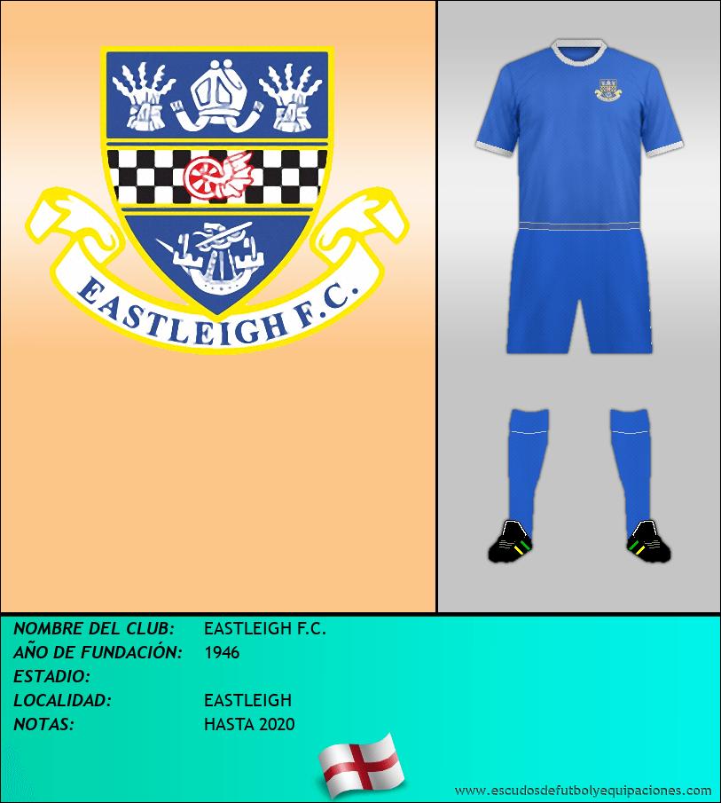 Escudo de EASTLEIGH F.C.