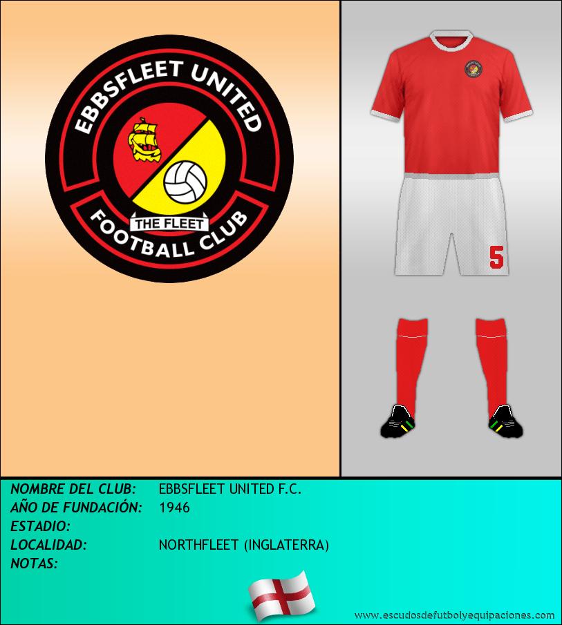 Escudo de EBBSFLEET UNITED F.C.