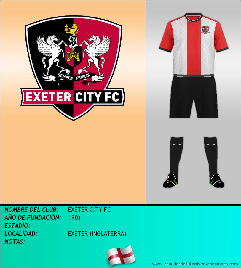 Escudo de EXETER CITY FC