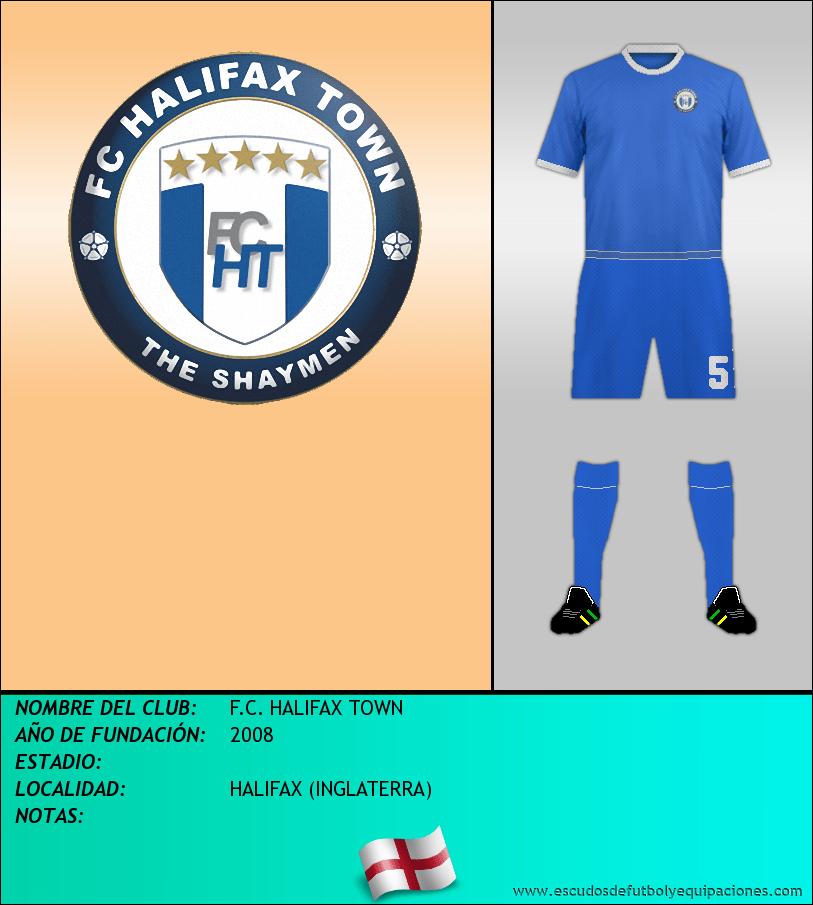 Escudo de F.C. HALIFAX TOWN