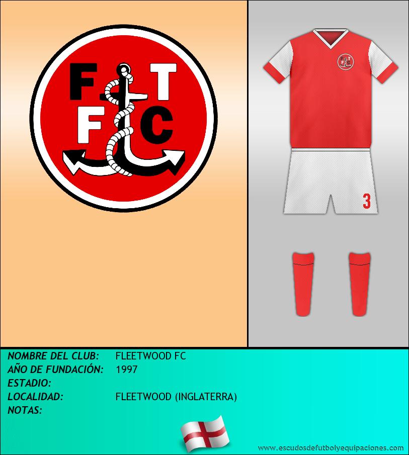 Escudo de FLEETWOOD FC
