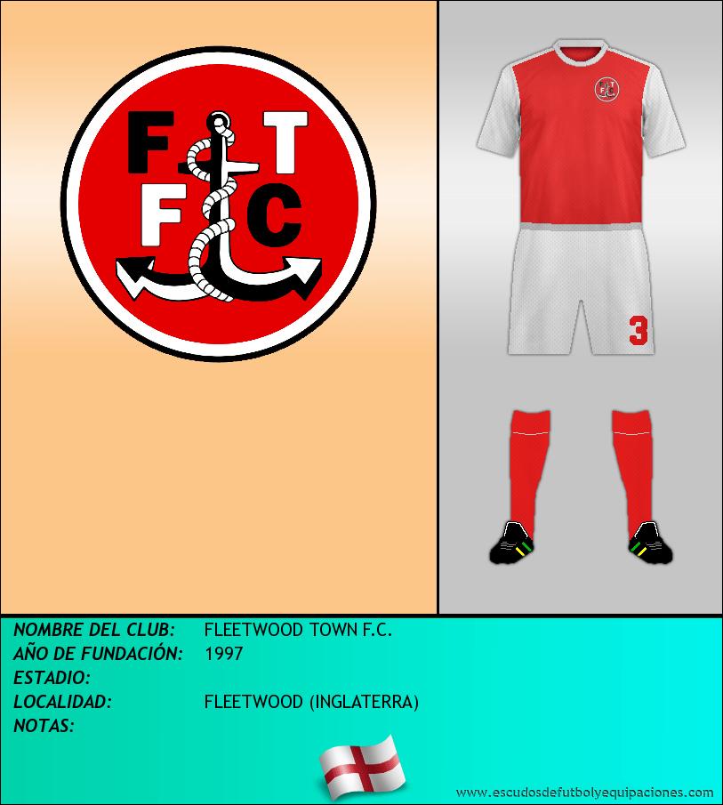 Escudo de FLEETWOOD TOWN F.C.