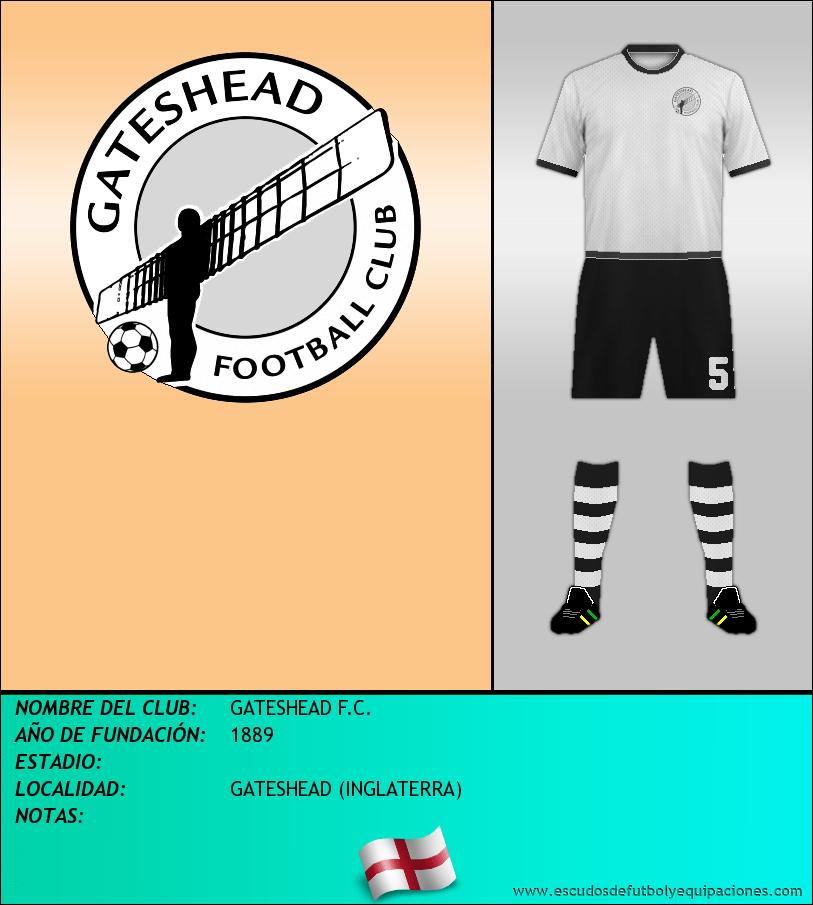 Escudo de GATESHEAD F.C.