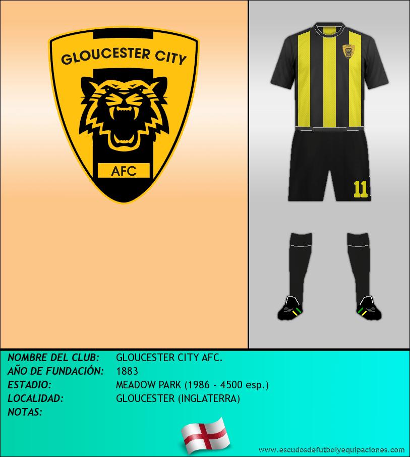 Escudo de GLOUCESTER CITY AFC.