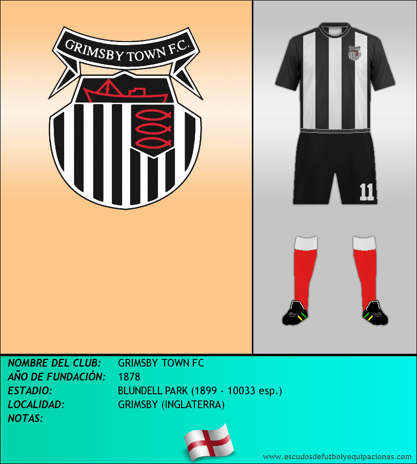 Escudo de GRIMSBY TOWN FC