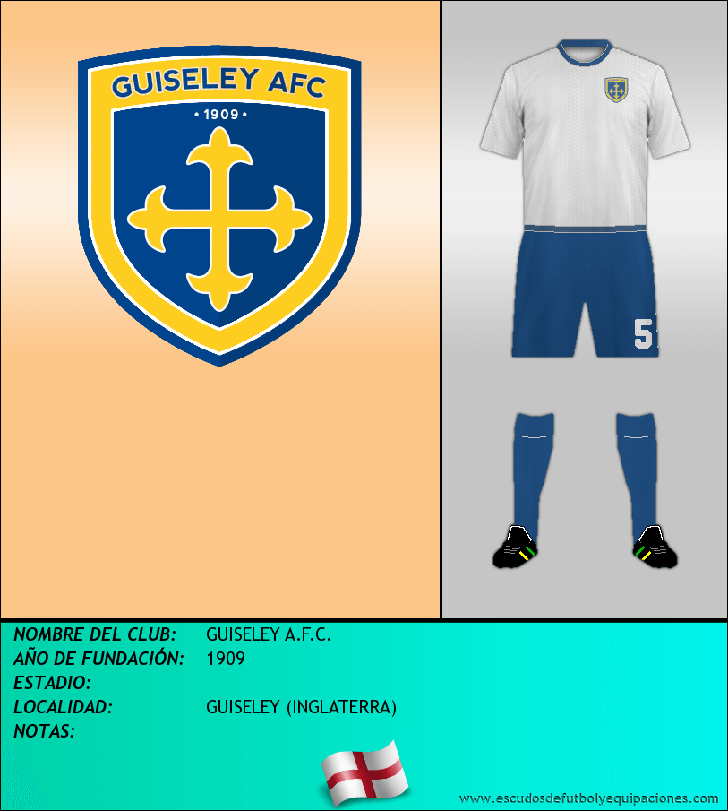 Escudo de GUISELEY A.F.C.