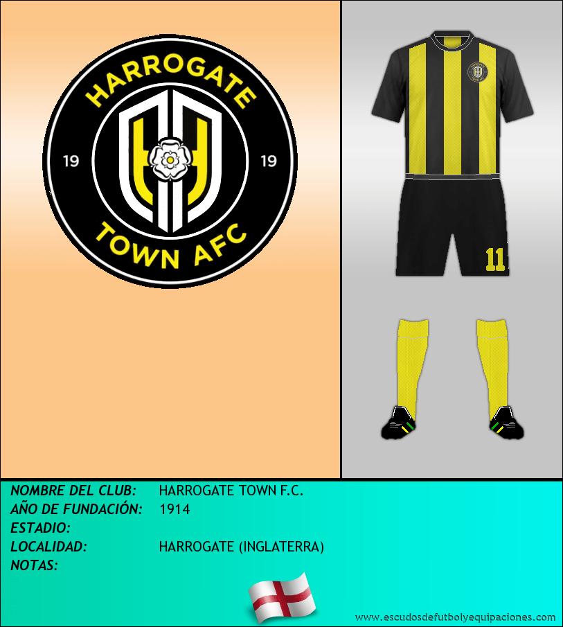 Escudo de HARROGATE TOWN F.C.