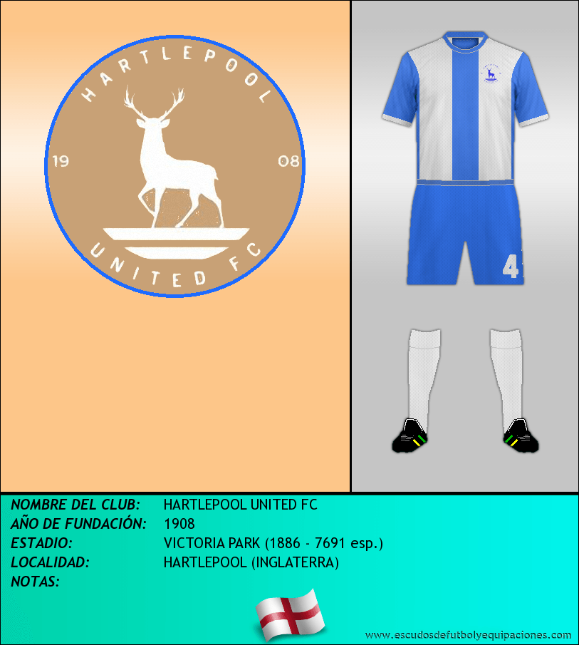 Escudo de HARTLEPOOL UNITED FC