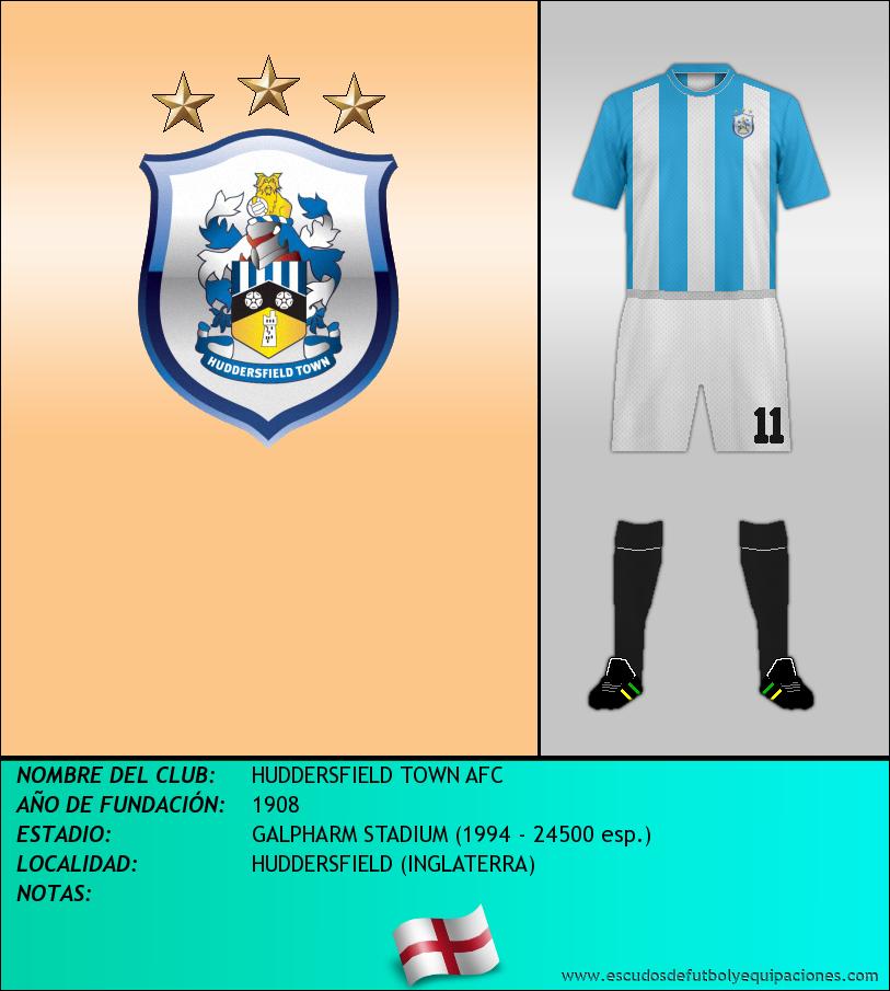 Escudo de HUDDERSFIELD TOWN AFC