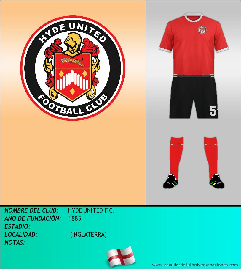 Escudo de HYDE UNITED F.C.
