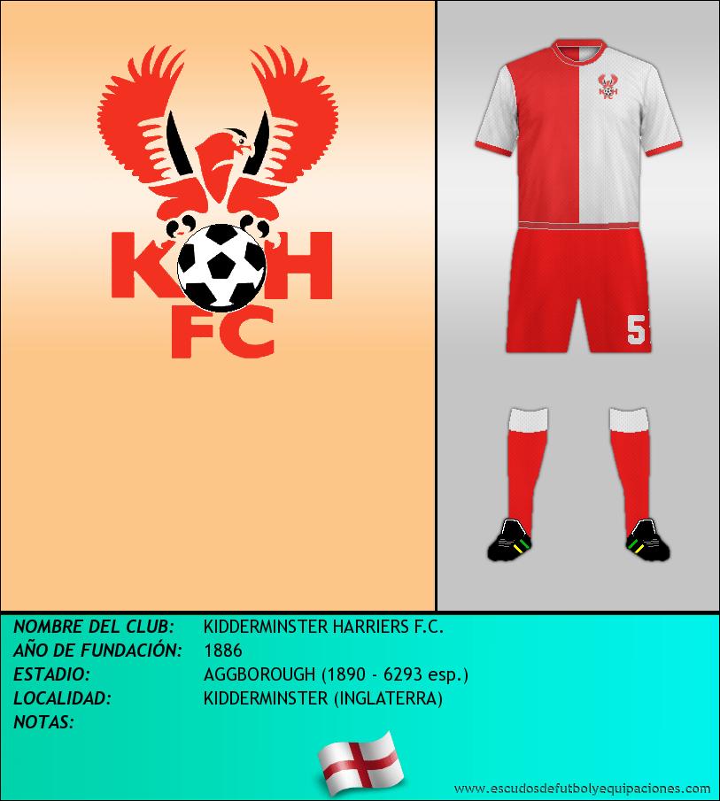 Escudo de KIDDERMINSTER HARRIERS F.C.
