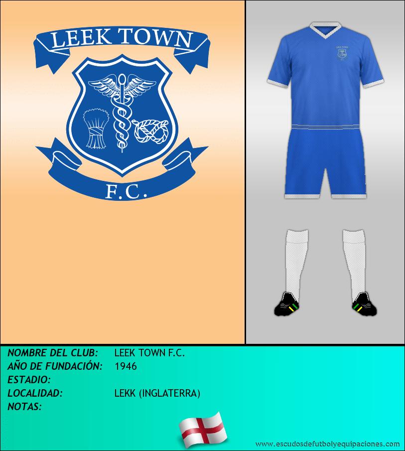 Escudo de LEEK TOWN F.C.