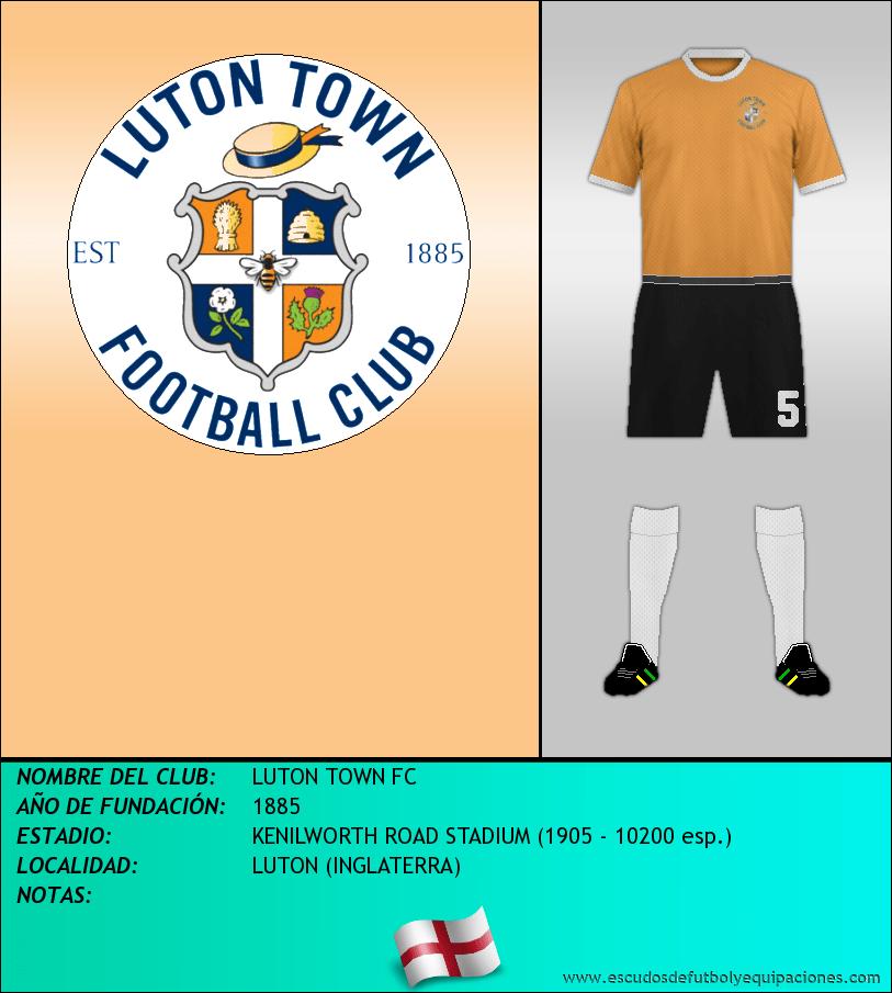 Escudo de LUTON TOWN FC