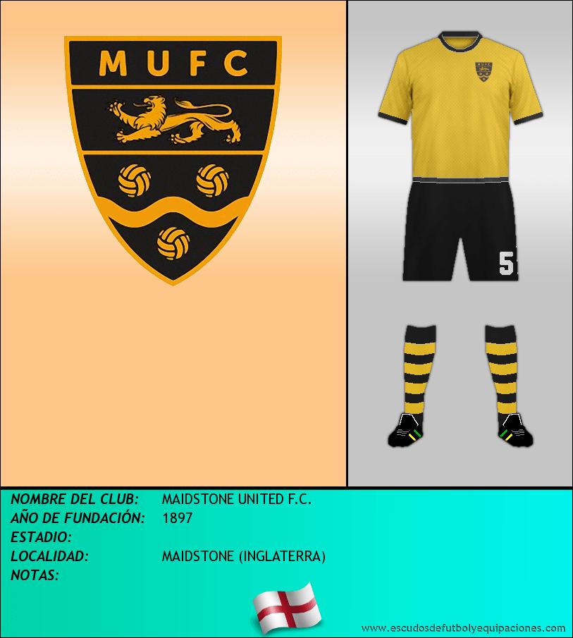 Escudo de MAIDSTONE UNITED F.C.