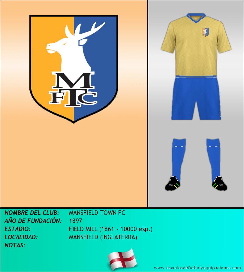 Escudo de MANSFIELD TOWN FC