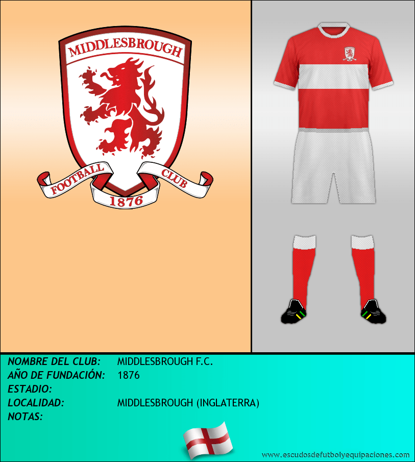 Escudo de MIDDLESBROUGH F.C.
