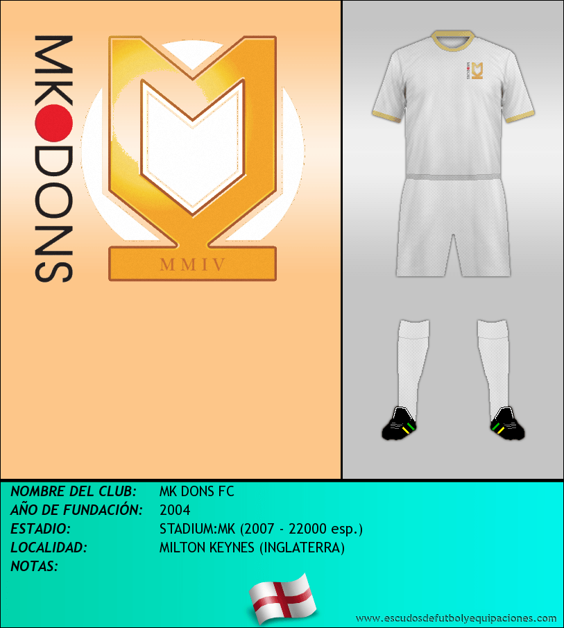 Escudo de MK DONS FC