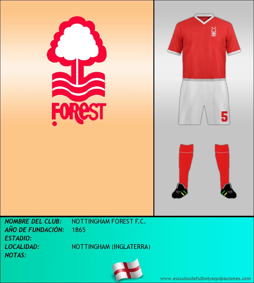 Escudo de NOTTINGHAM FOREST F.C.