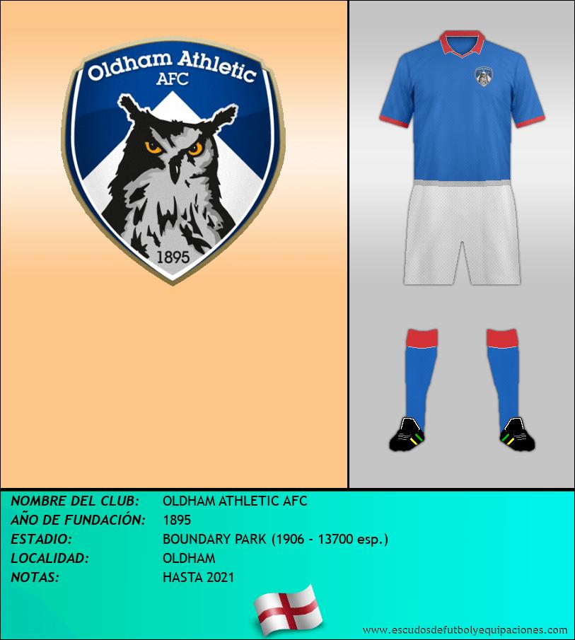 Escudo de OLDHAM ATHLETIC AFC