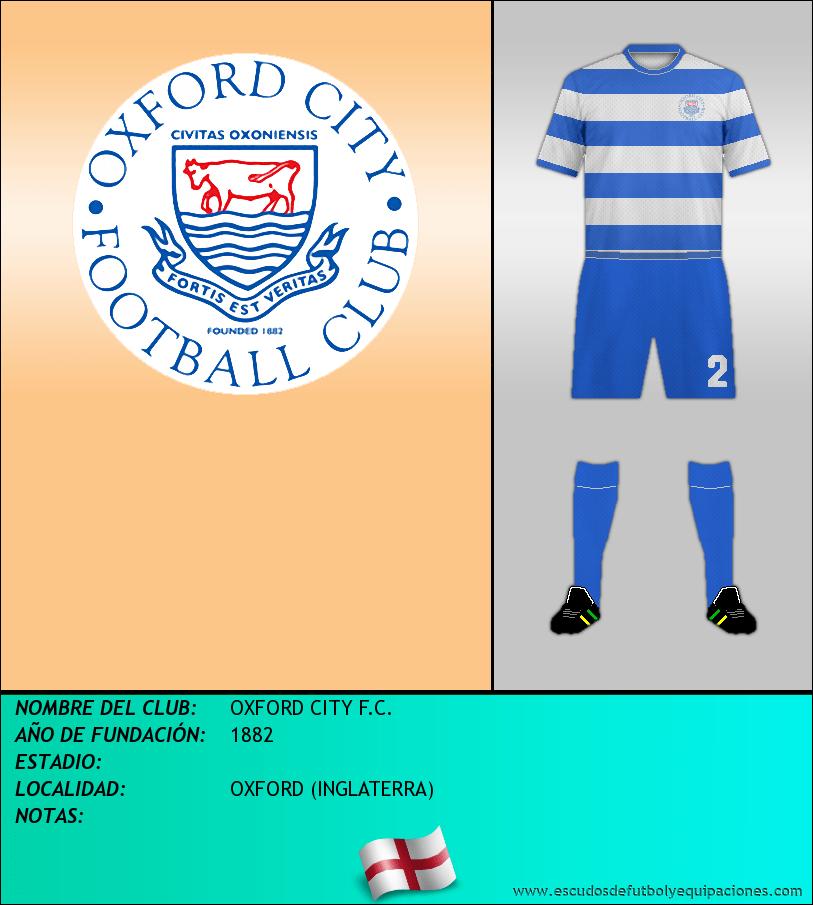 Escudo de OXFORD CITY F.C.