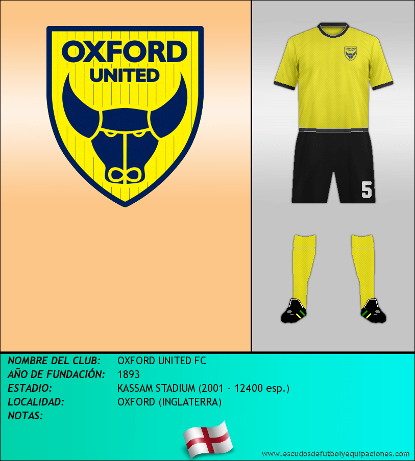 Escudo de OXFORD UNITED FC