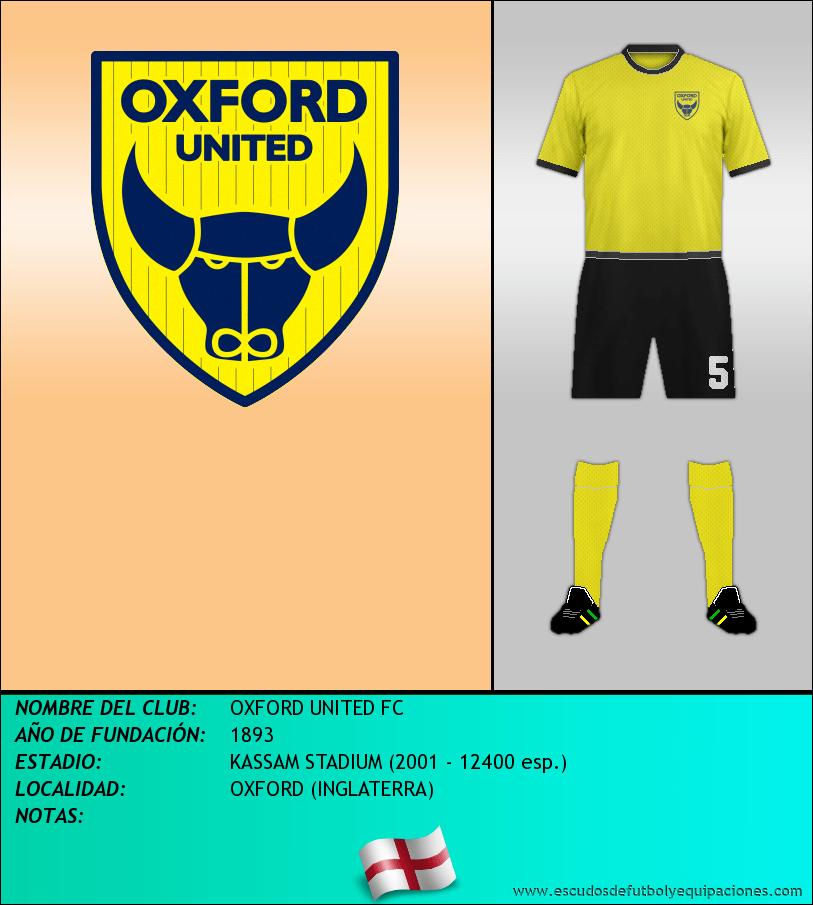 Escudo de OXFORD UNITED FC