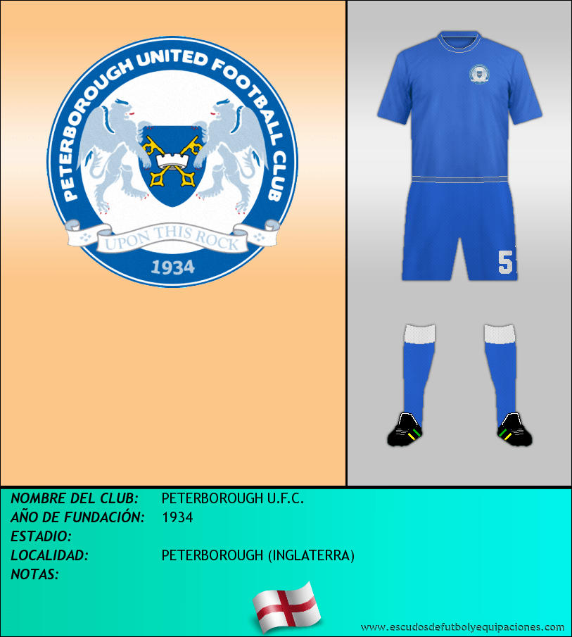 Escudo de PETERBOROUGH U.F.C.