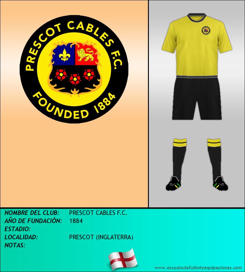 Escudo de PRESCOT CABLES F.C.