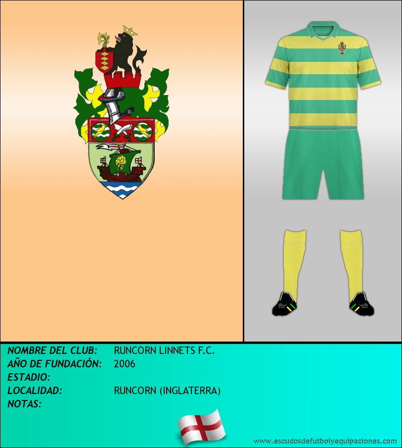 Escudo de RUNCORN LINNETS F.C.