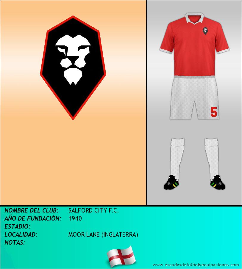 Escudo de SALFORD CITY F.C.