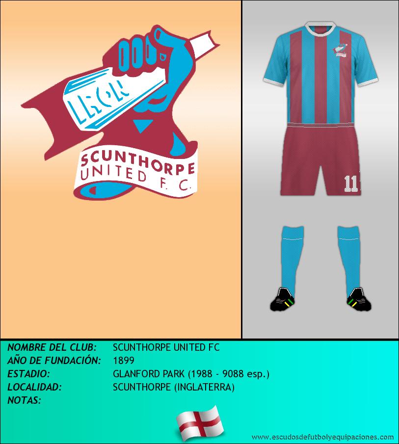 Escudo de SCUNTHORPE UNITED FC
