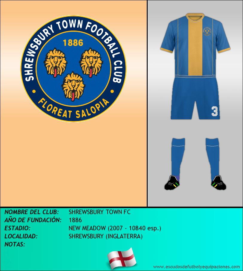 Escudo de SHREWSBURY TOWN FC