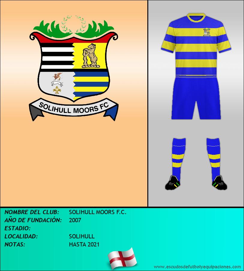 Escudo de SOLIHULL MOORS F.C.
