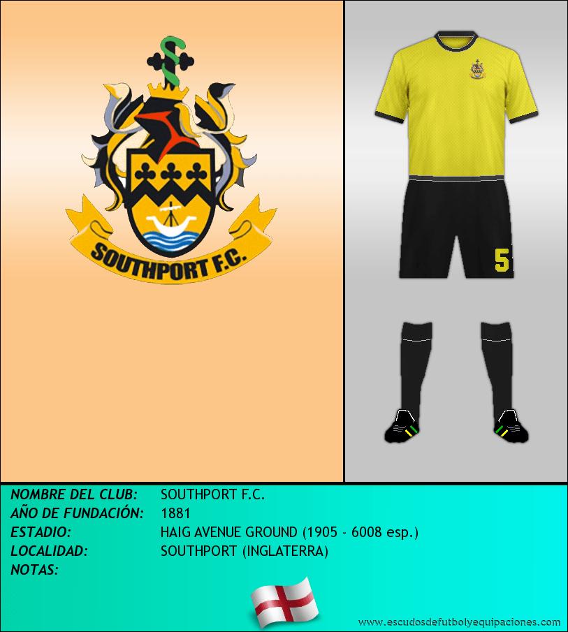 Escudo de SOUTHPORT F.C.