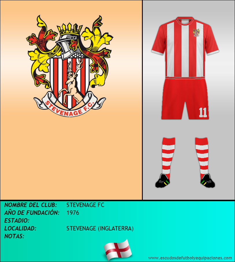 Escudo de STEVENAGE FC