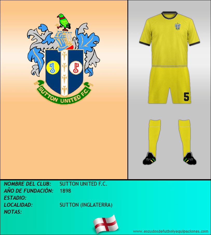 Escudo de SUTTON UNITED F.C.