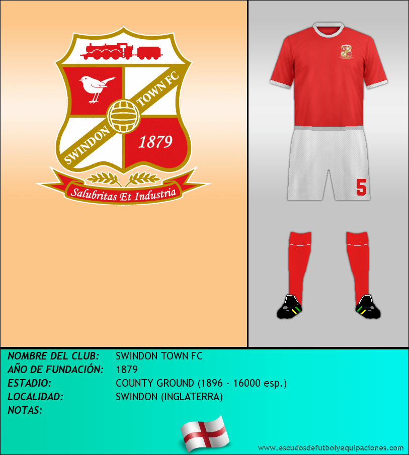 Escudo de SWINDON TOWN FC