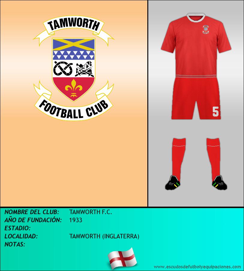 Escudo de TAMWORTH F.C.