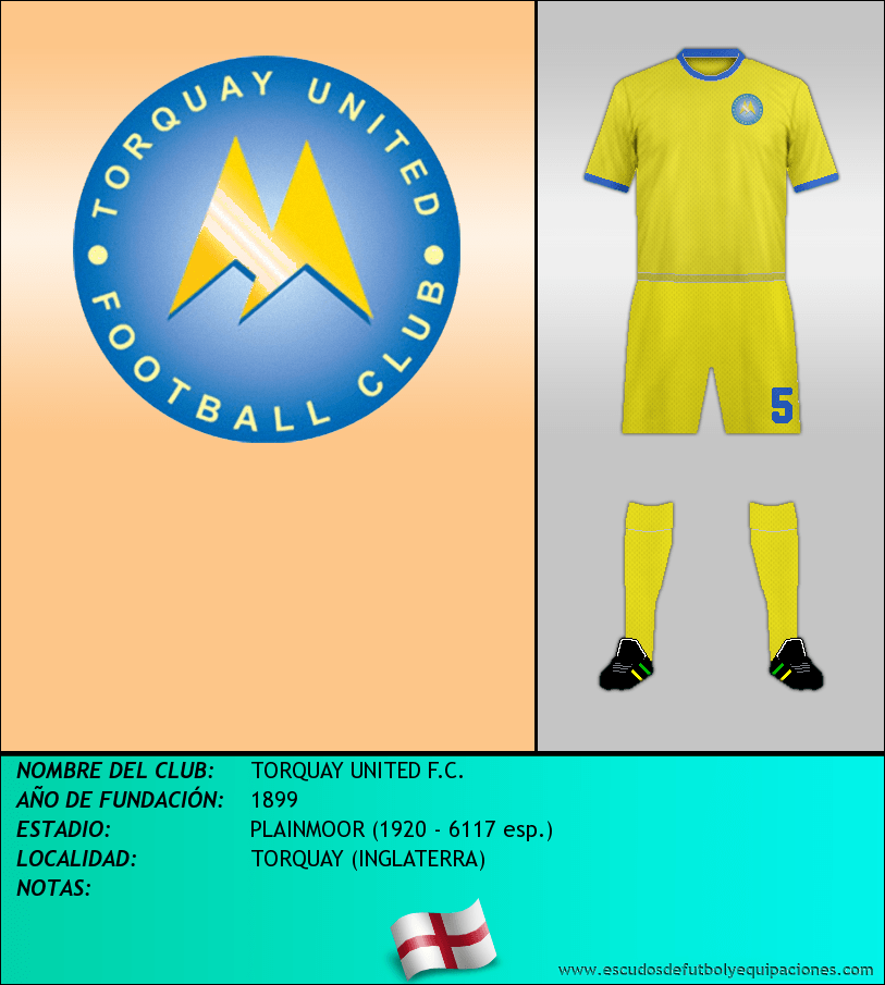 Escudo de TORQUAY UNITED F.C.