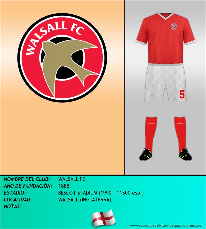 Escudo de WALSALL FC